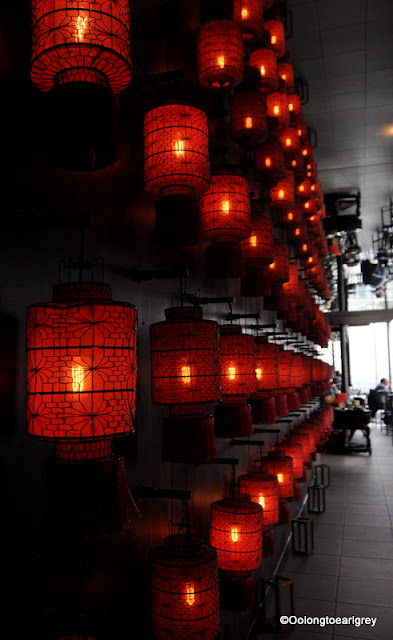 Chinese Lanterns, Hutong, The Shard, London