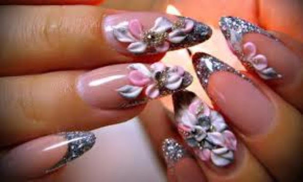bridal nail trends stand