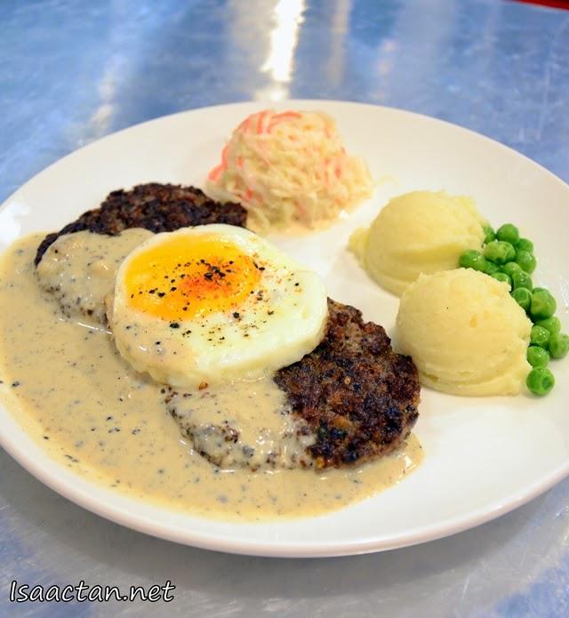#13 Beef Patty & Mash - RM13
