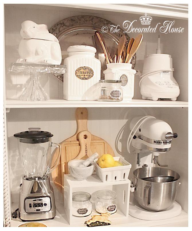 The decorated house small kitchen storage - Kitchen appliance storage cabinet ...
