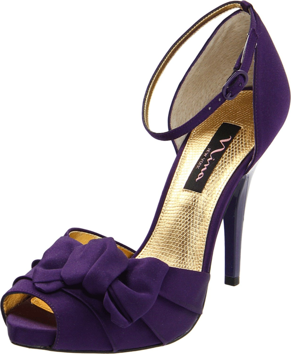 Purple Special Occasion Bridal, Prom, Grad Wedding Platform Pump Heels Shoe