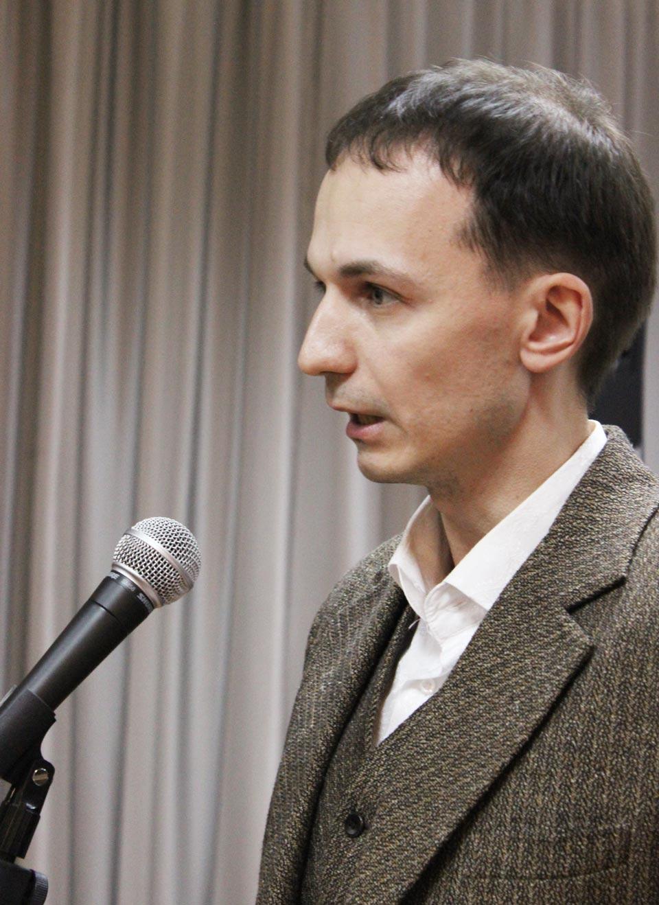 Олег Устинов, председатель Общественной палаты Сергиево-Посадского района.