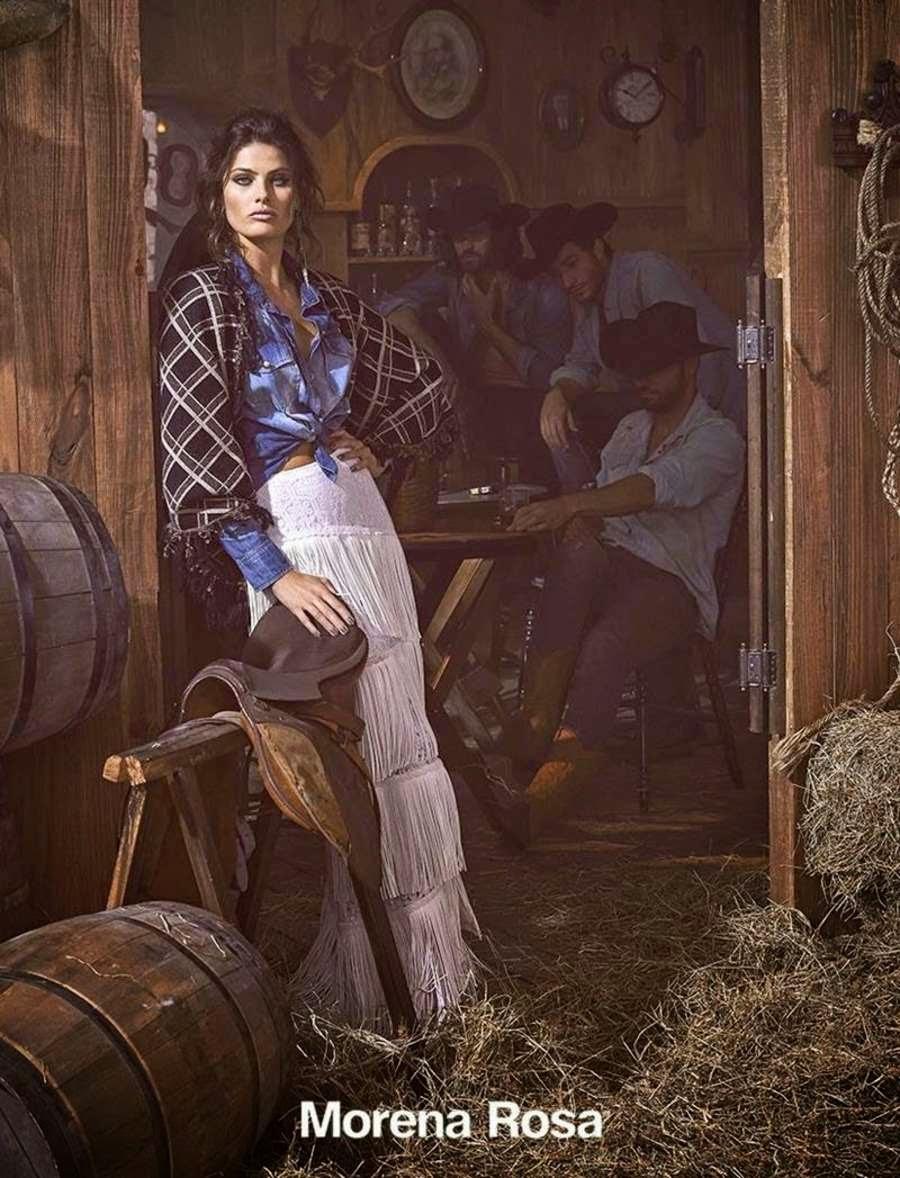 Morena Rosa Fall/Winter 2015 Campaign featuring Isabeli Fontana