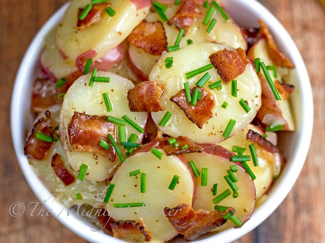 German potato salad the midnight baker german potato salad bakeatmidnite potato salad recipe ccuart Choice Image