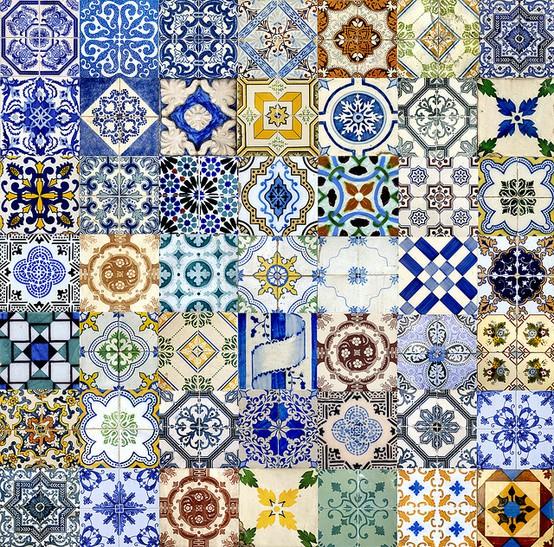 E se esta casa fosse minha azulejos coloridos for Azulejos clasicos