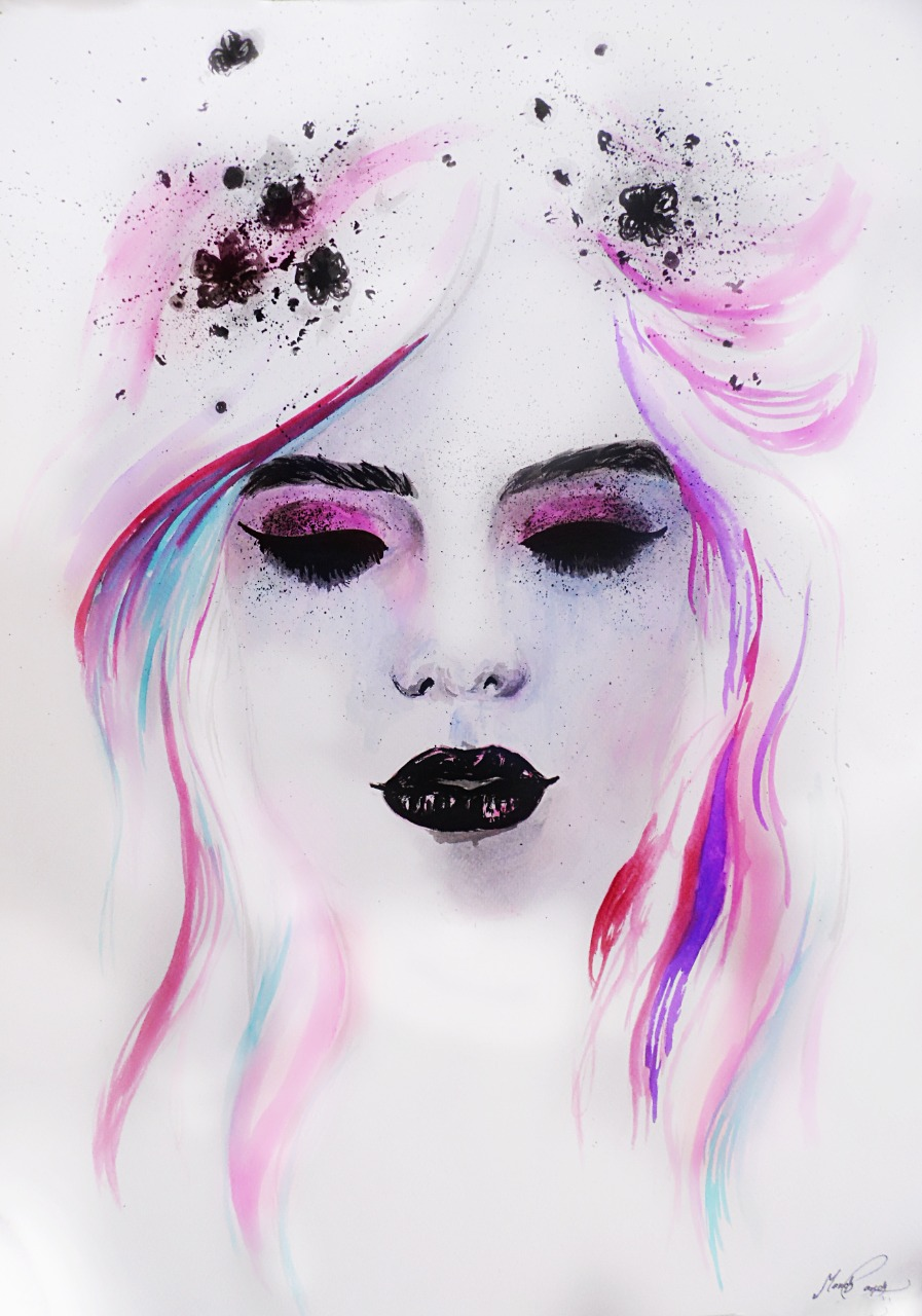 14-Andrea-Wéber-aka-Mandy-Candy-Paintings-A-Mirror-to-the-Artist-s-Emotions-www-designstack-co