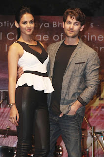 Neil Nitin and Sonal Chauhan at '3G' Cinem Promotion