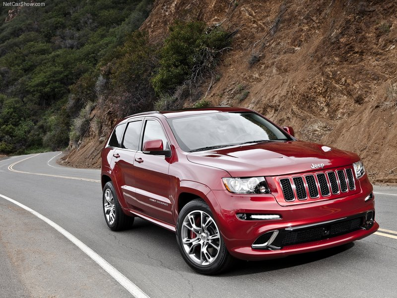 2012 New Jeep Grand Cherokee SRT8