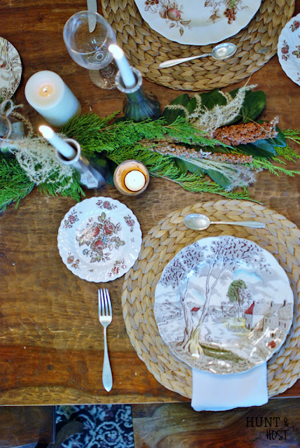 Hunt & Host- Fall Tablescape-Treasure Hunt Thursday- From My Front Porch To Yours
