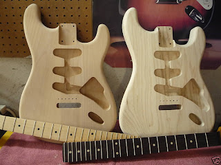 Stratocaster DIY Guitar Kit
