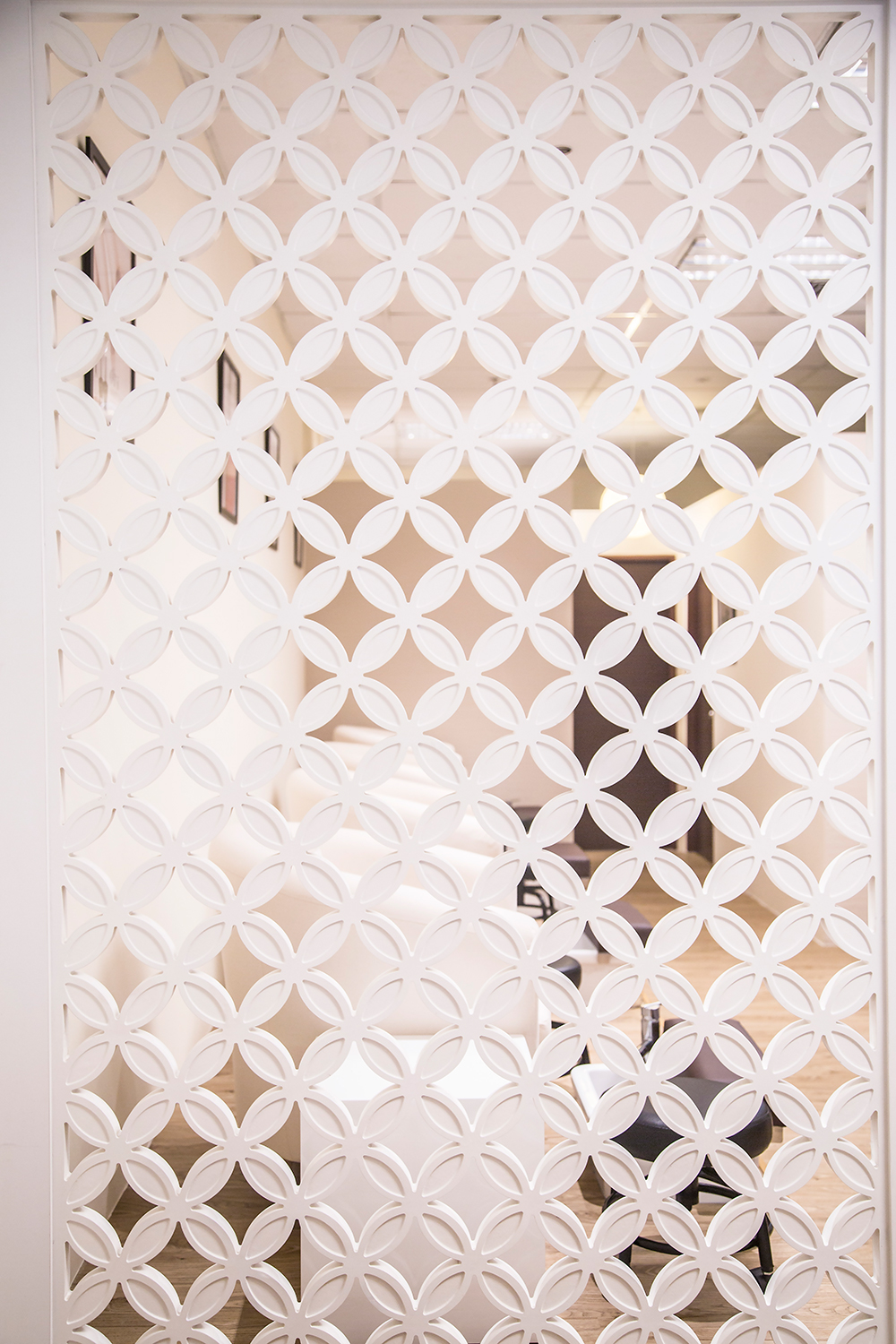 Bejeweled Spa Interior- Wall Divider