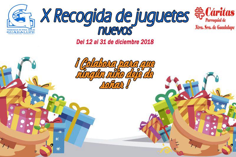 X RECOGIDA DE JUGUETES NUEVOS