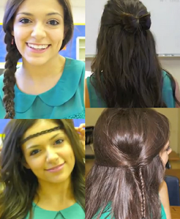 4 new back to school hair styles