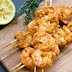 Grilled Shrimp Kabobs with Tomato, Garlic, and Herbs