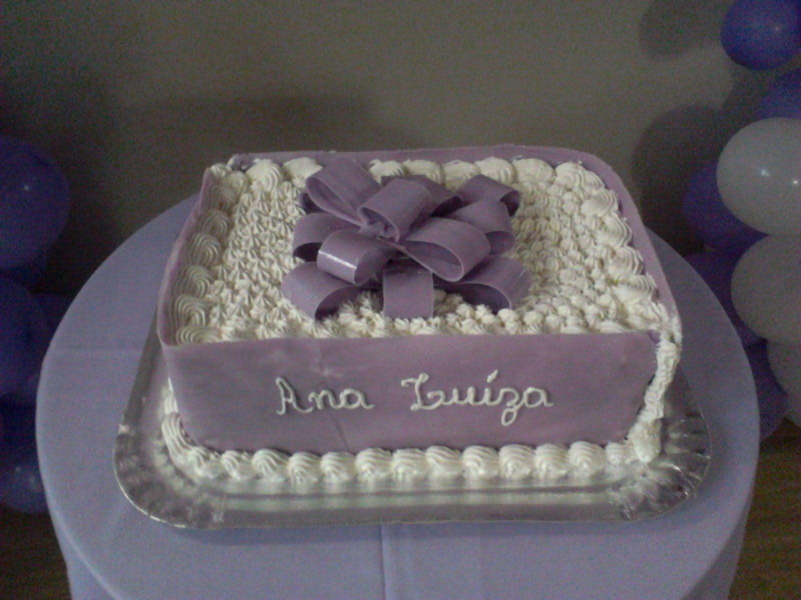 decoracao tudo branco: Festas Infantis: Decoração Lilás e Branco – Aniversário Ana Luíza