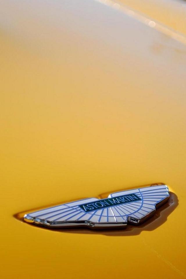 Aston Martin Logo Iphone Android Wallpaper