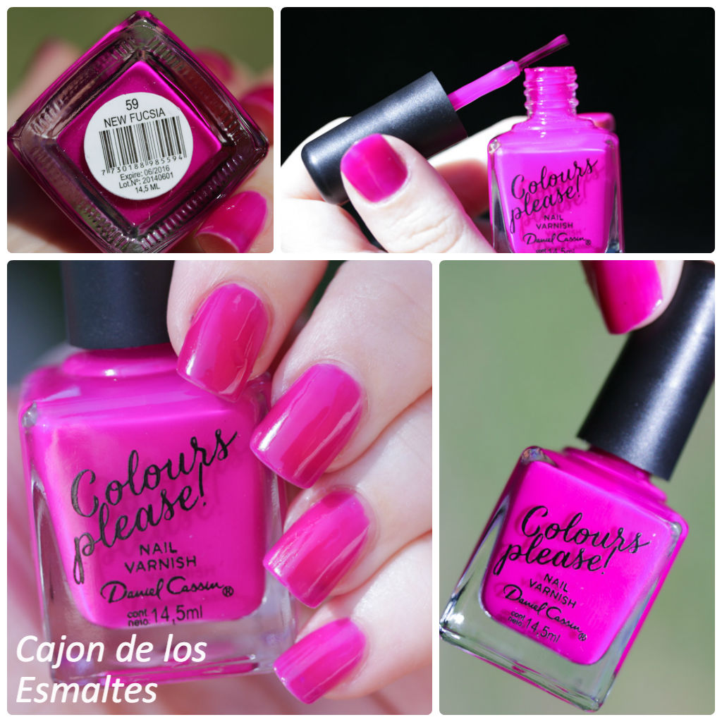 Nuevos esmaltes Daniel Cassin - Colours Please!