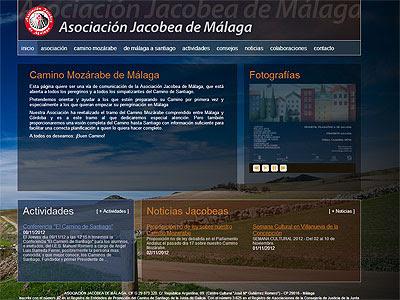 Nueva web de la asociación jacobea de Málaga