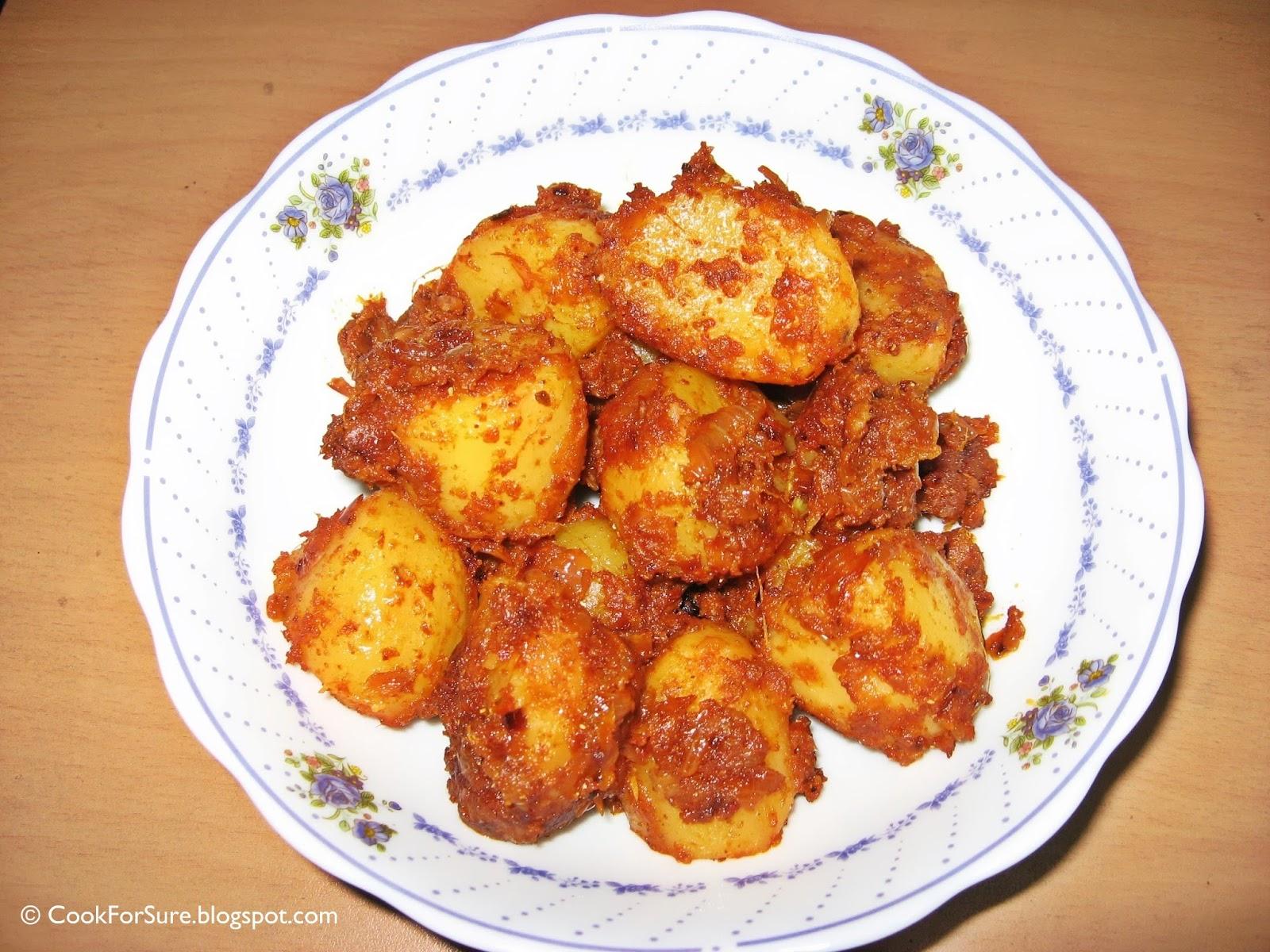 Dum Aloo Kashmiri (Dry) |CookForSure