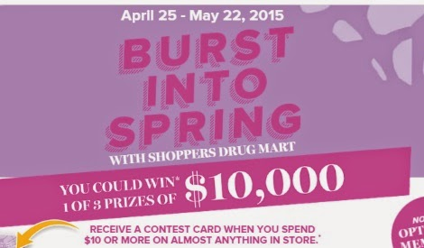Shoppers Drug Mart Burst Into Spring Contest