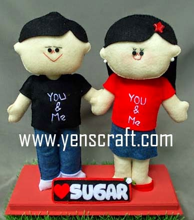 boneka couple sugar
