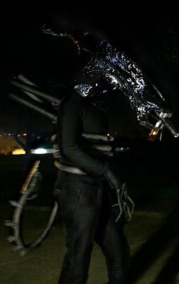 Alien Xenomorph Homemade Costume