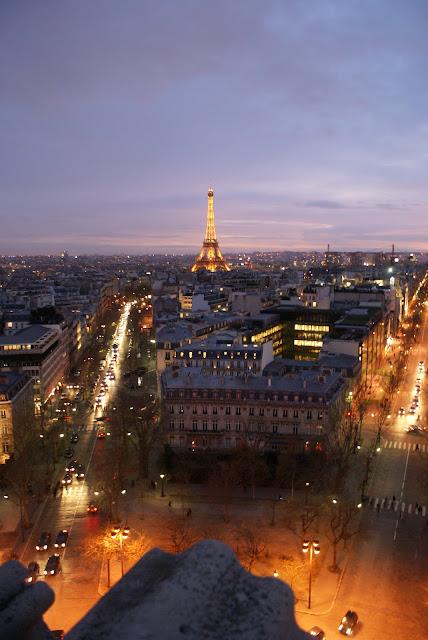 Eiffel Tower city of Paris