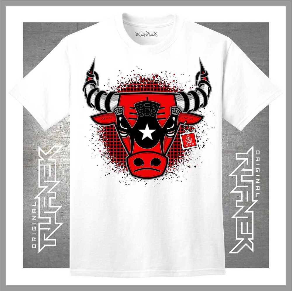 Jordan 4 toro bravo shirt