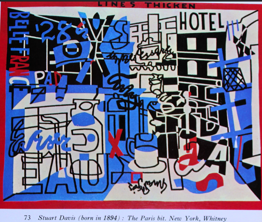 Stuart Davis Born 1894 The