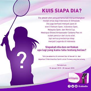 "Info Kuis - Kuis Caldana ""Siapa dia? Berhadiah Merchandise Cantik"
