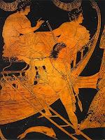 Pericles prometió acceder siempre que se permitiera el comercio entre Lacedemonia y Atenas.