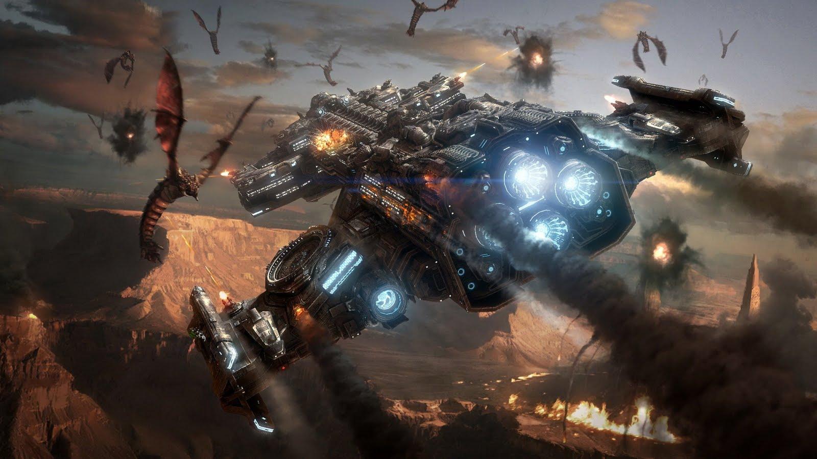 http://1.bp.blogspot.com/-EcZlHbJdfkc/TcIeoaQV7GI/AAAAAAAAAsw/XQyATsByMlM/s1600/Terran+battlecruiser+vs+baneling+Starcraft+Wallpaper.jpg