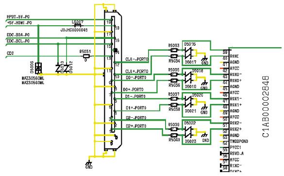 Hình 32b - Cổng giao tiếp chuẩn HDMI