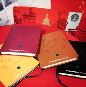 The 2014 Starbucks planners are out!  Click on the pic to know how to get one!