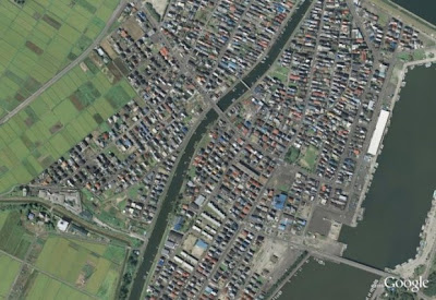 Google Earth Pics of Japan before and after the Tsunami Seen On  www.coolpicturegallery.us