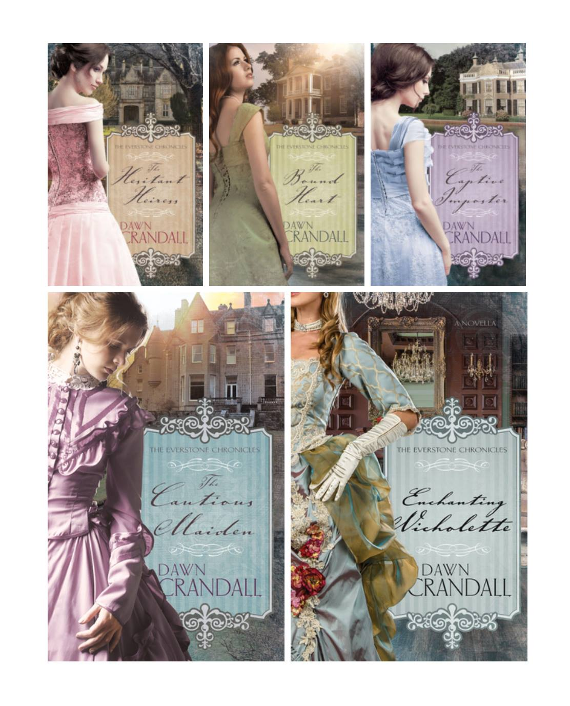 Order the Entire 5 book series for $53!