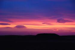 Sunset at Mount Pleasant