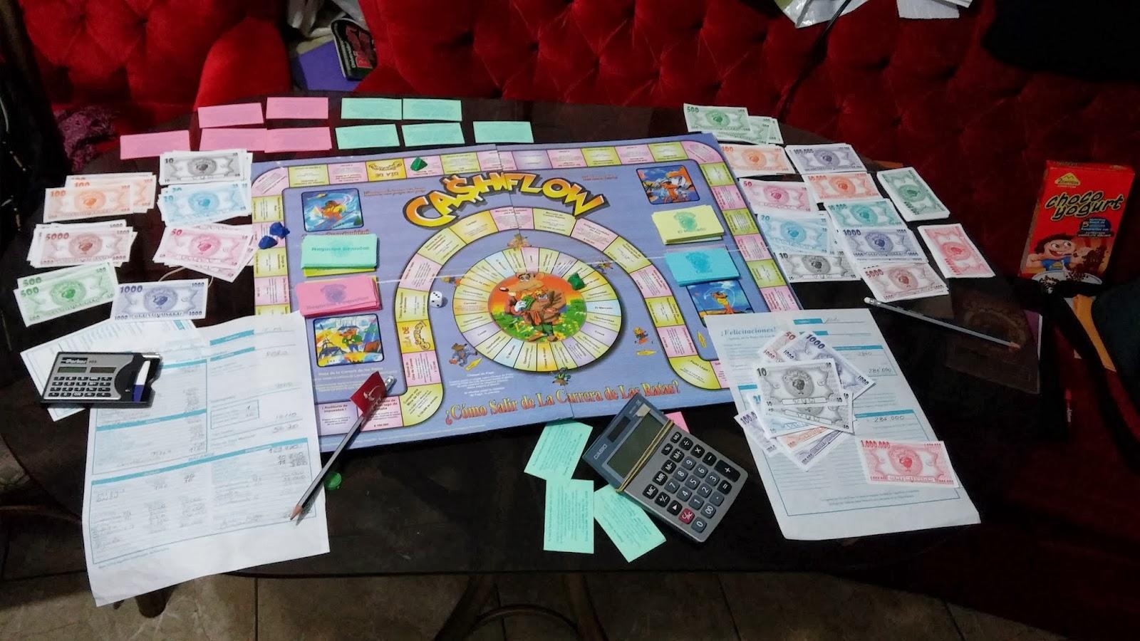 Yo s de riqueza juego cashflow 101 de robert kiyosaki for Juego de mesa cash flow