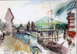Majapahit Ternyata adala Kota Atlantis