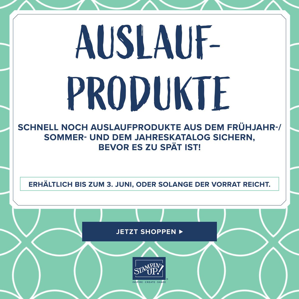 Listen der auslaufenden Produkte