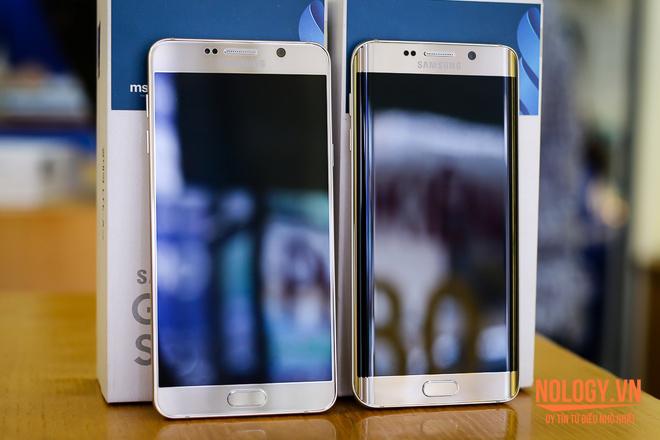 Samsung Galaxy Note 5 đọ dáng với Galaxy S6 Edge 2 sim