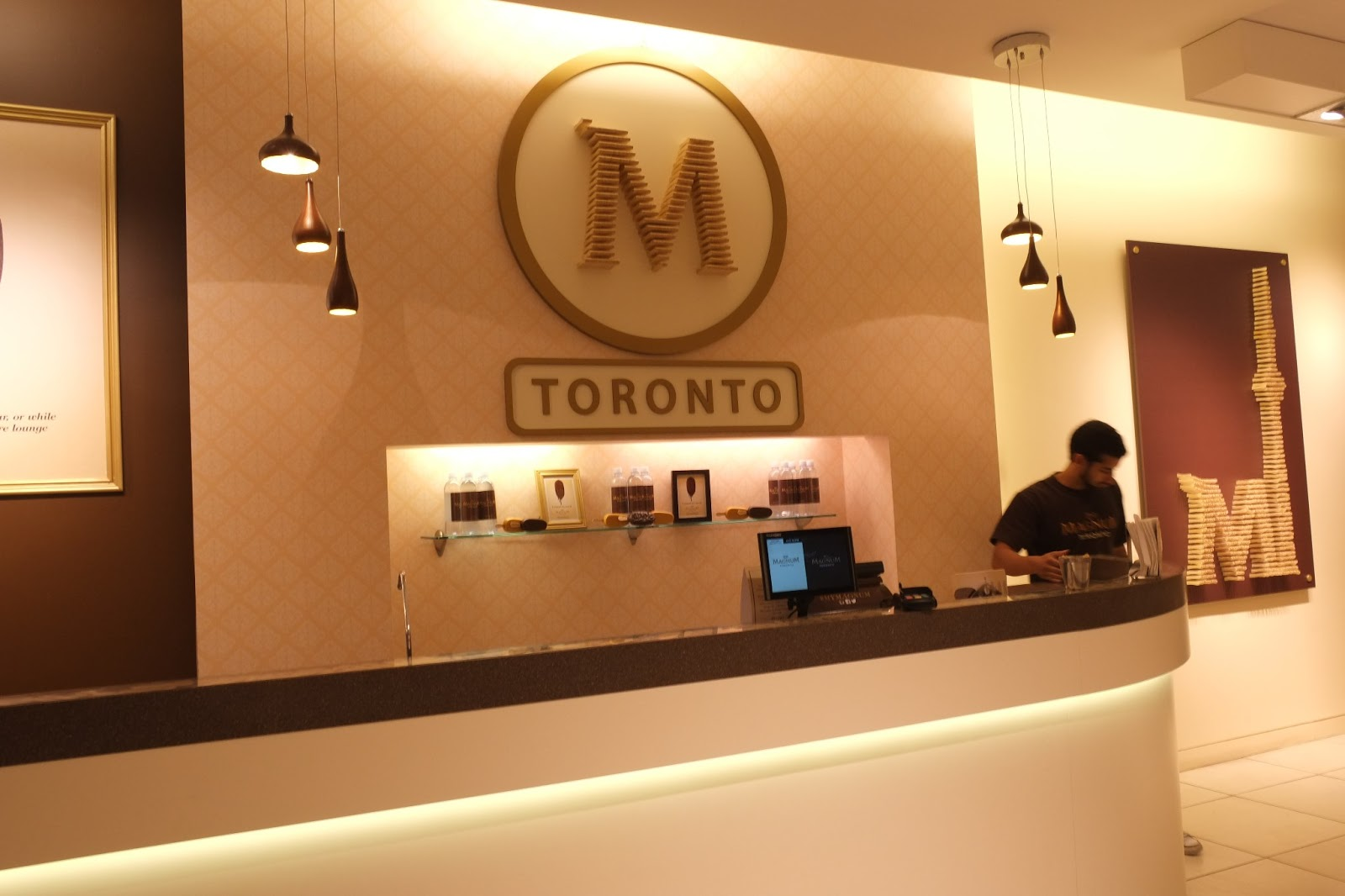 L a loves toronto magnum pleasure store pop up shop for Magnum pop up shop