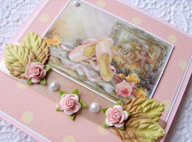 Схема вышивки _ Розовые пуанты