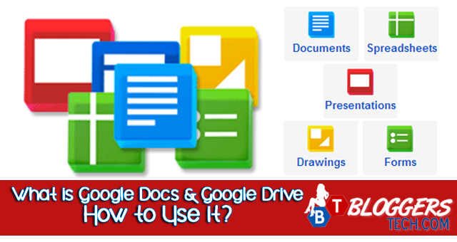 What is Google Docs and Google Drive - How to Use it?