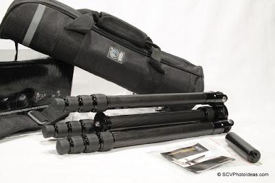 Triopo GT-3228X8C Carbon Fiber Traveler Tripod overview