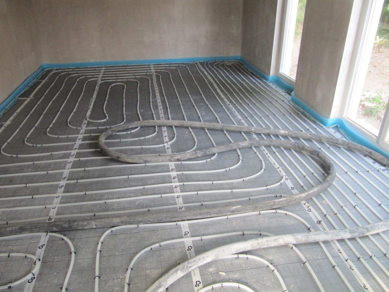 projekt schnitzelbude fussbodenheizung und estrich fertig. Black Bedroom Furniture Sets. Home Design Ideas