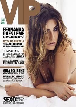 Revista Vip Fernanda Paes Leme