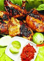 Ayam Bakar Kalasan (Jawa Tengah)