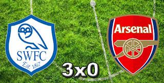 Sheffield 3x0 Arsenal