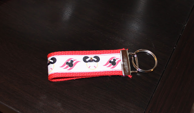 Disney Fabric Key Fob